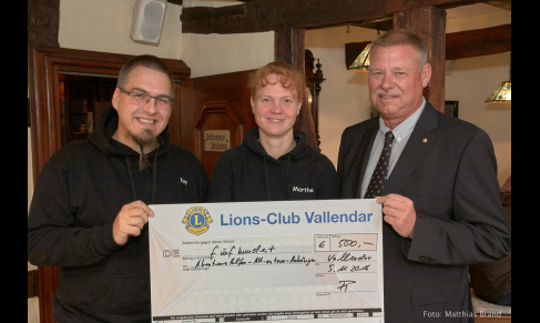 Sonderpreis des Bürgerprojektpreis 2015 des Lionsclubs Vallendar
